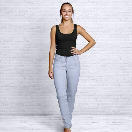 Jeans Hose, rose, rosa, Top, Damen, Bio-Kleidung, Bio-Baumwolle, Jeans pants, rose, pink, top, women, organic clothing, organic cotton,