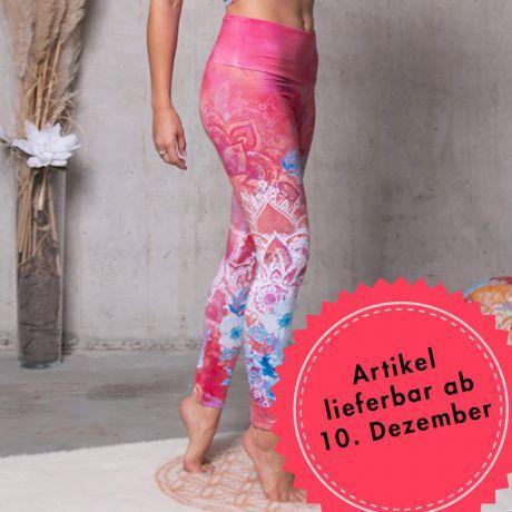 Yoga-Leggings Bravery pink/bunt
