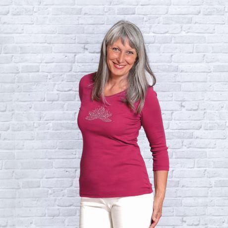 Ananda-Lotus Shirt rosenrot