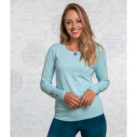 Langarm-Shirt Bambus blue-breeze
