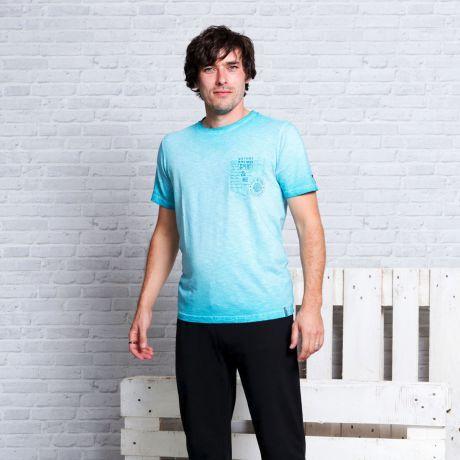 T-Shirt 'Nature Spirit' türkisblau