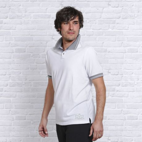 Polo, Hemd, weiß, grau, Bio-Kleidung, Herren, Bio-Baumwolle, shirt, white, gray, organic clothing, men, organic cotton,