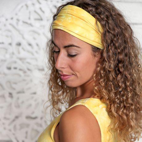Batik Stirnband sonnengruß