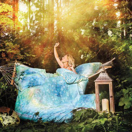 Bettwäsche Faszination Blue Dream