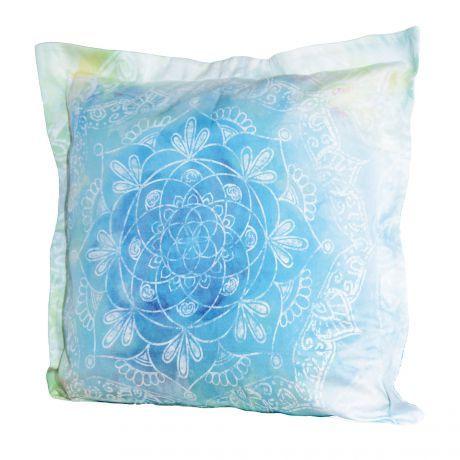 Kissen, Bunt, Mandala, Fibonacci, Bio-Baumwolle, Pillow, colorful, mandala, Fibonacci, organic cotton,
