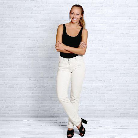 Jeans Hose, Lotus, weiß, Bio-Baumwolle, Jeans pants, lotus, white, organic cotton,