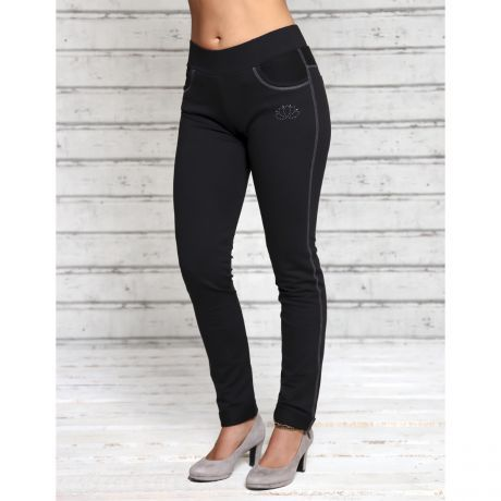 Legging, Hose, schwarz, Lotus, black