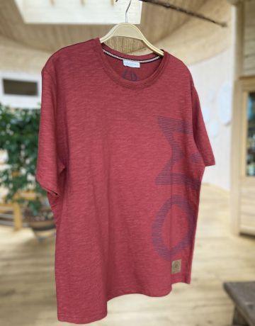 T-Shirt men OM bordeaux