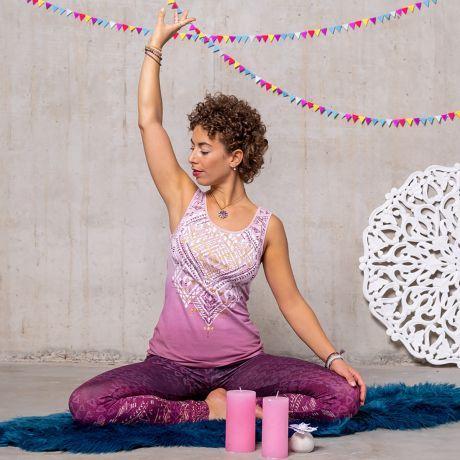 Yoga-Top - Bakti - amethyst