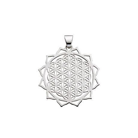 Silberschmuck Blume des Lebens