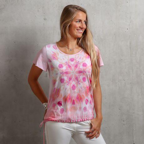 Shirt Yoga-Blüte