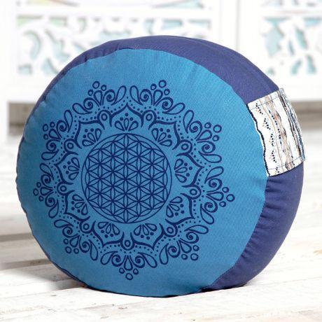 Meditationskissen azur / ozeanblau